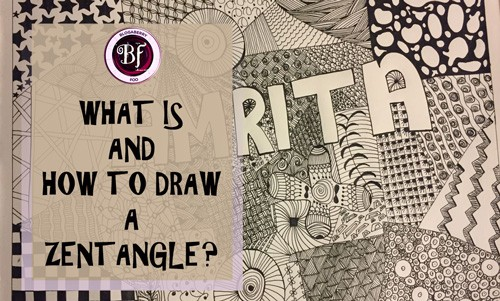 draw a zentangle