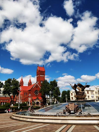 Church and Minsk