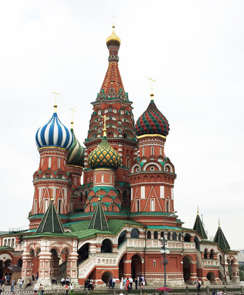 Ivan the Terrible - St. Basil's Cathedral