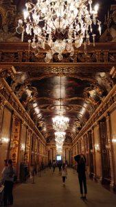 narrow banquet hall