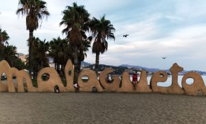 The Malaga Beach