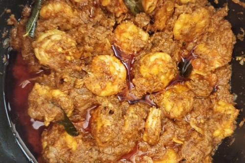 Prawn ghee roast
