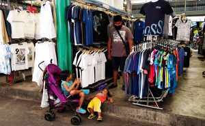 Shopping with kids in Bangkok