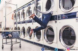 washing clothes
