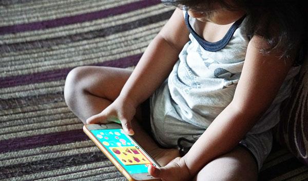 Smartphones with kids