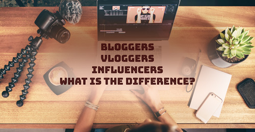 Blogger influencer vlogger