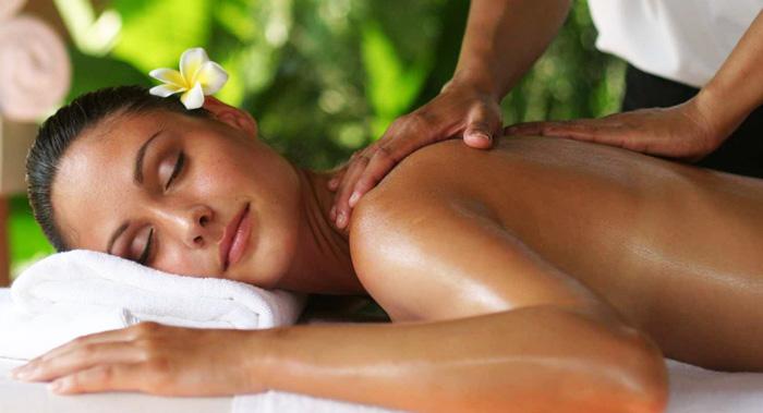 Sensual body massage