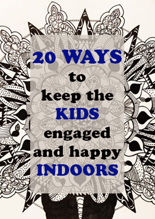 kids engaged and happy