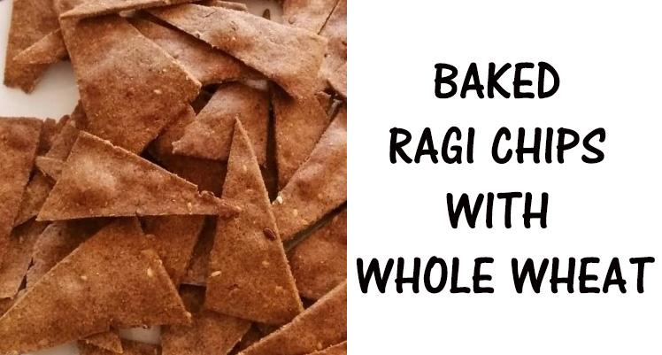 baked ragi chips calcium fibre protein
