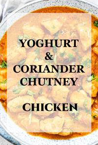 NONVEG - YOGHURT & CORIANDER CHUTNEY CHICKEN