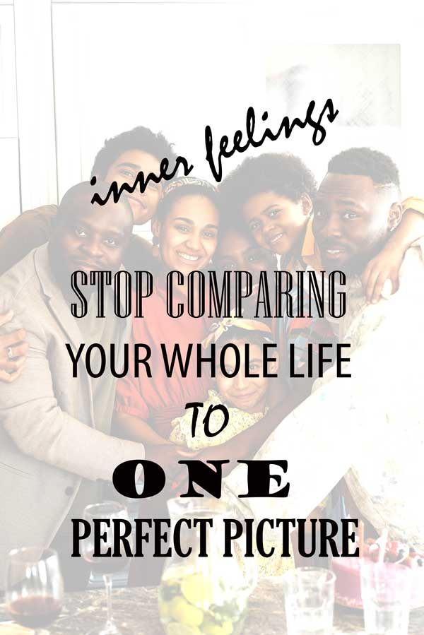 STOP COMPARING YOUR WHOLE LIFE
