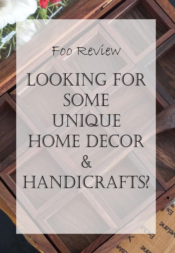 home decor and handicrafts