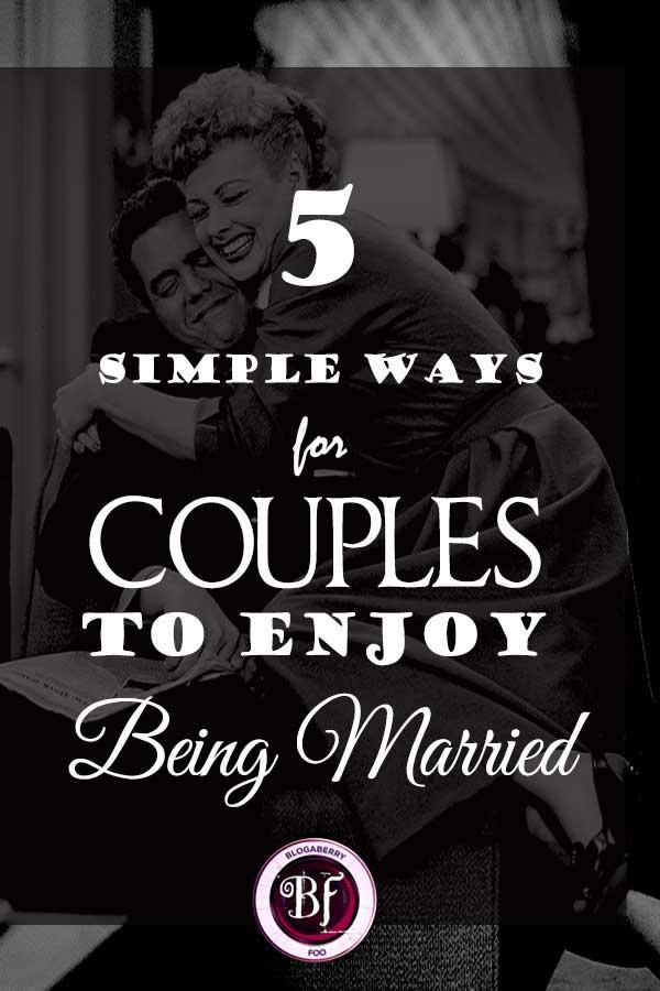 ENJOY BEING MARRIED