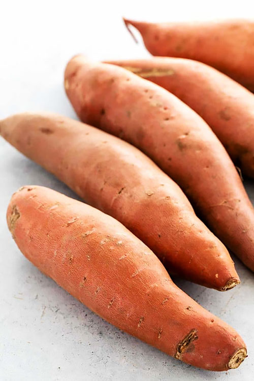 chickpeas & sweet potato