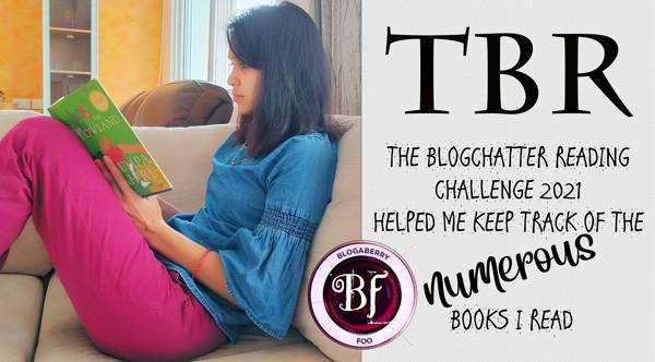 the Blogchatter reading TBR challenge blogaberry