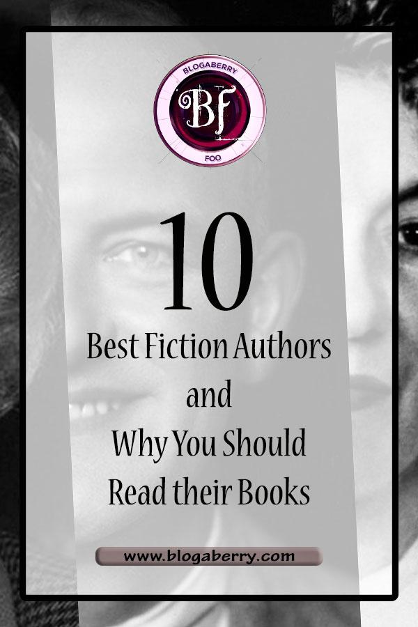 best fiction authors